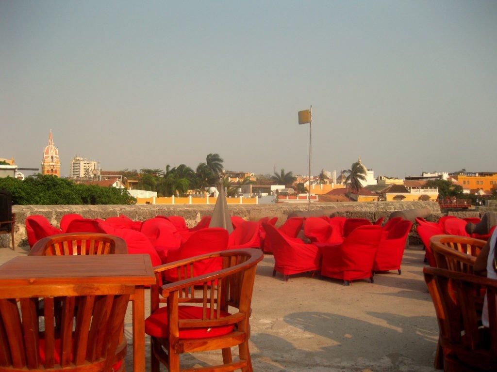 Cafe del Mar Kolumbien Cartagena