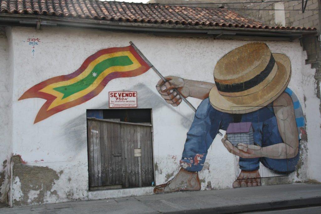 Streetart Cartagena  Kolumbien