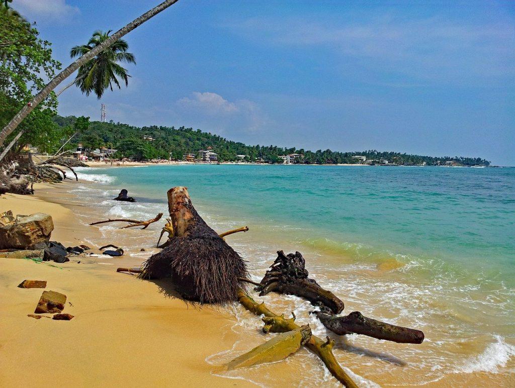 Unawatuna Strand Sri Lanka