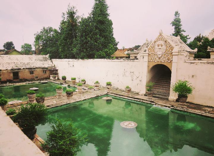 Wasserschloss Yoygakarta