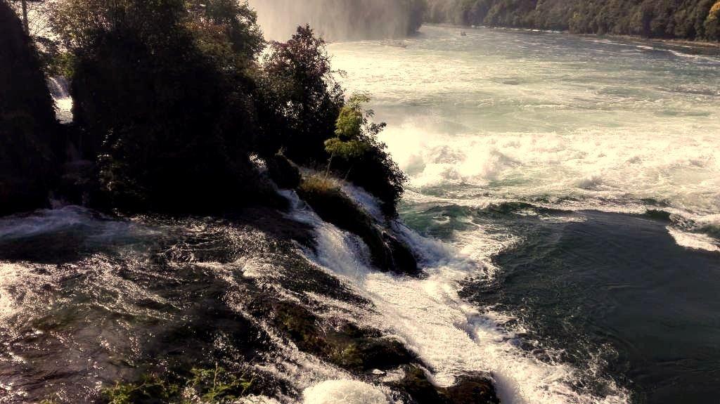 Der Rheinfall Schaffhausen
