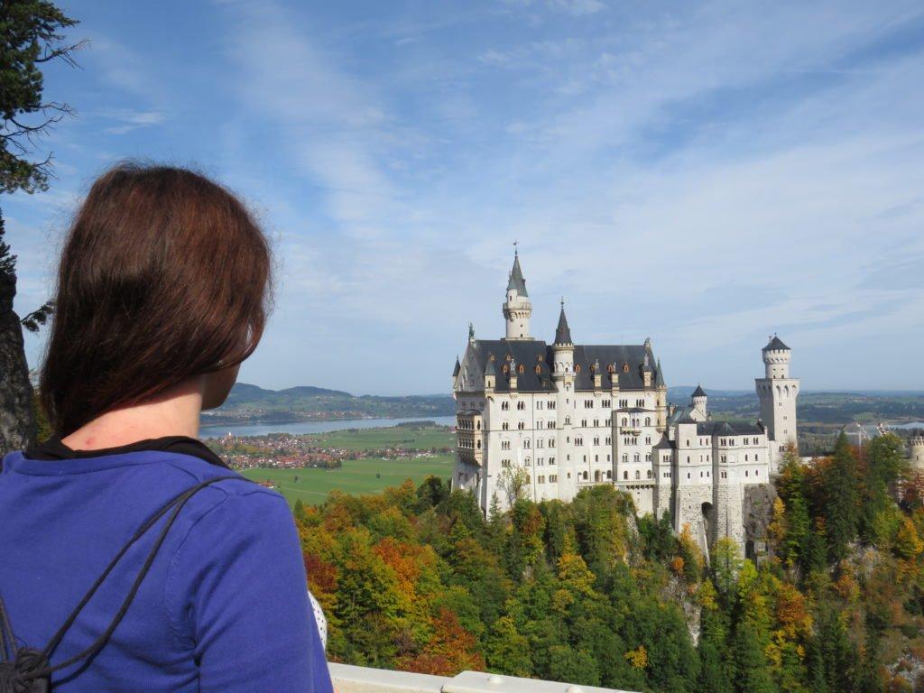 Schloss Neuschwandstein Marienbrücke