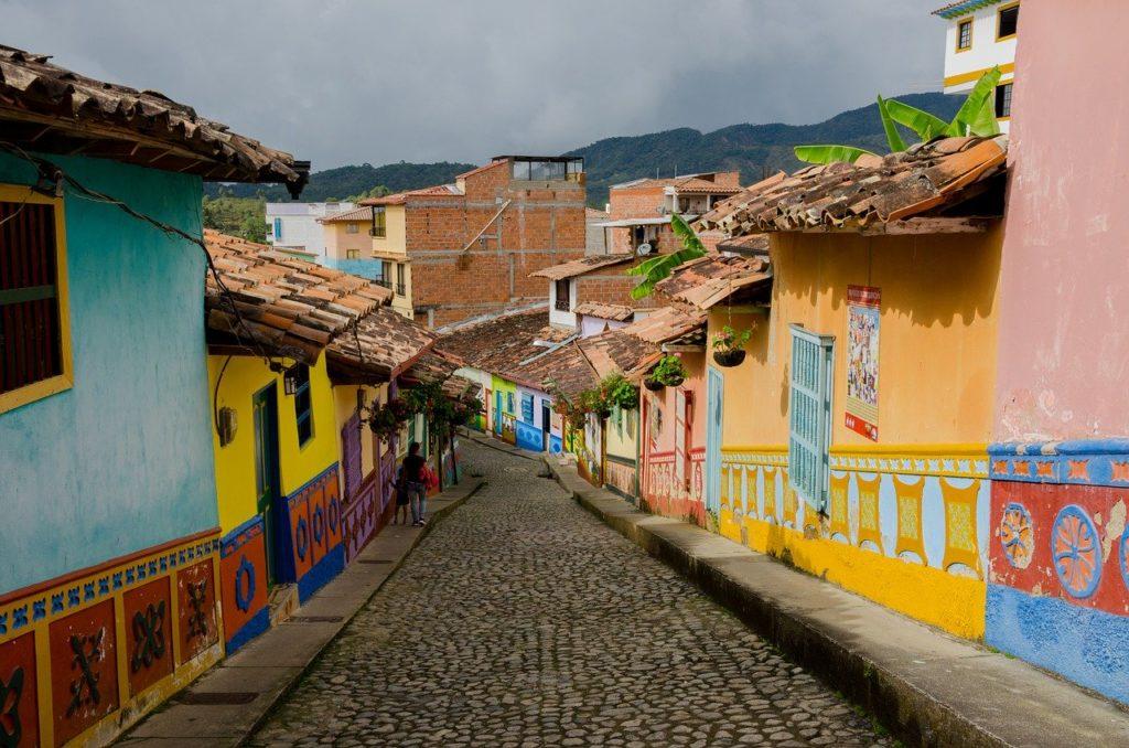 Guatape Kolumbien