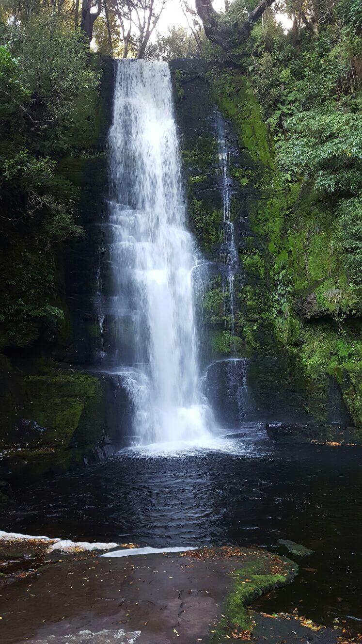 Mc Kenzie Falls Neuseeland