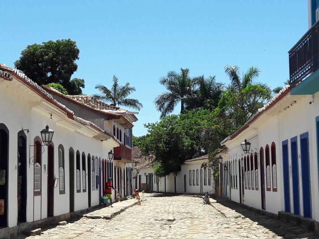 Die Stadt Paraty in Brasilien