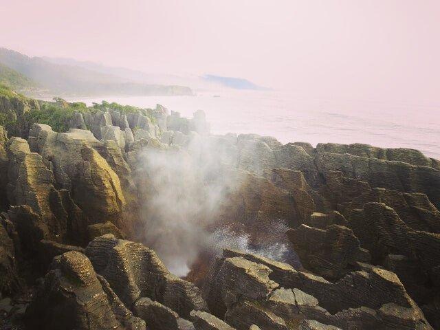 Pancake Rocks Südinsel Neuseelands