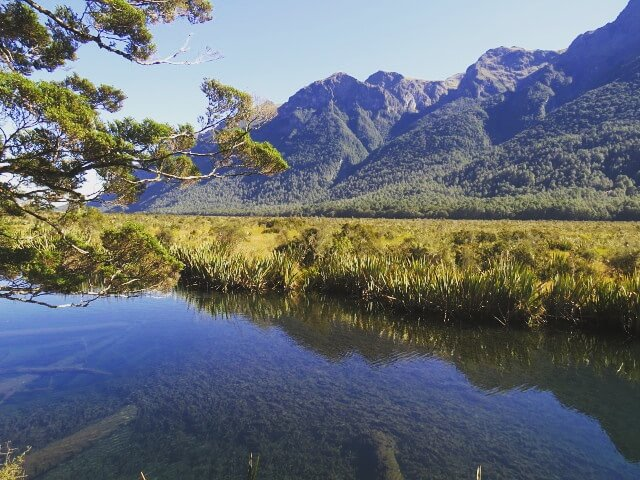 Mirror Lakes Neuseeland
