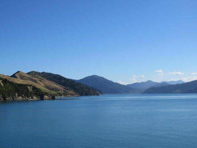 Neuseeland Überfahrt auf die Südinsel