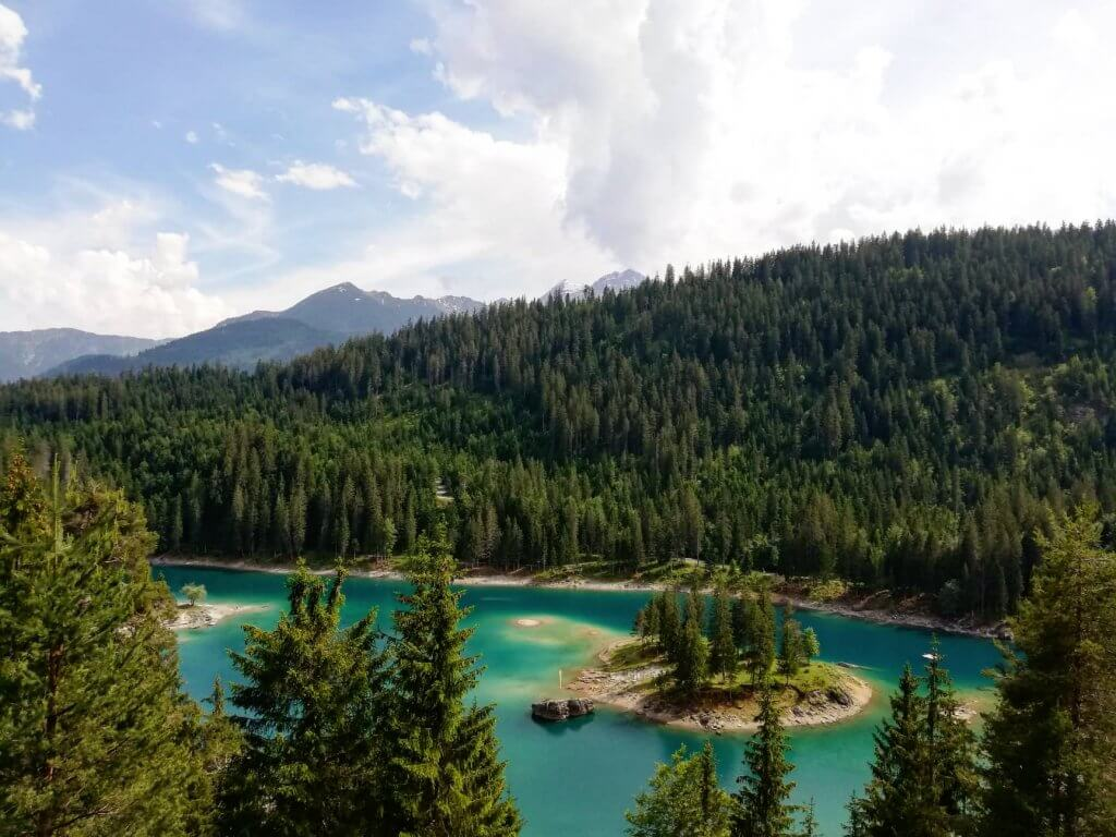 Der Caumasee in Flims