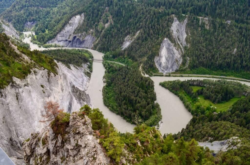 Rheinschlucht Il Spir
