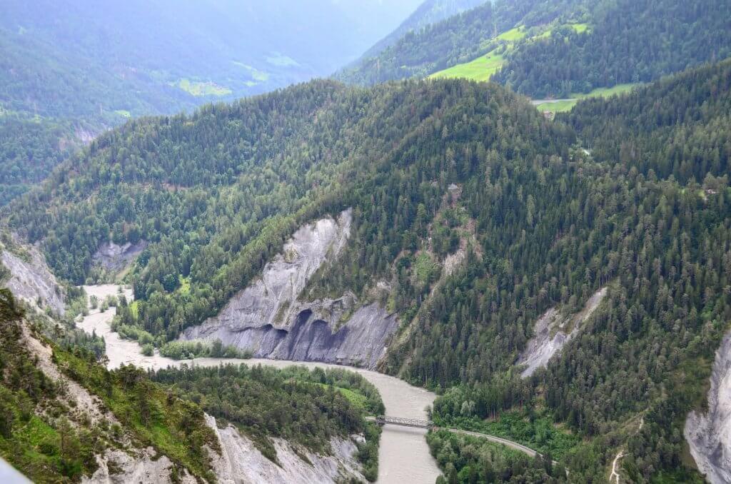 Rheinschlucht Il Spir Graubünden