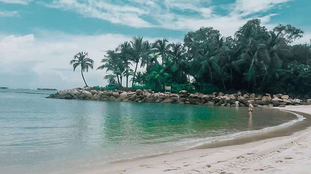 Sentosa Island Singapur Strand