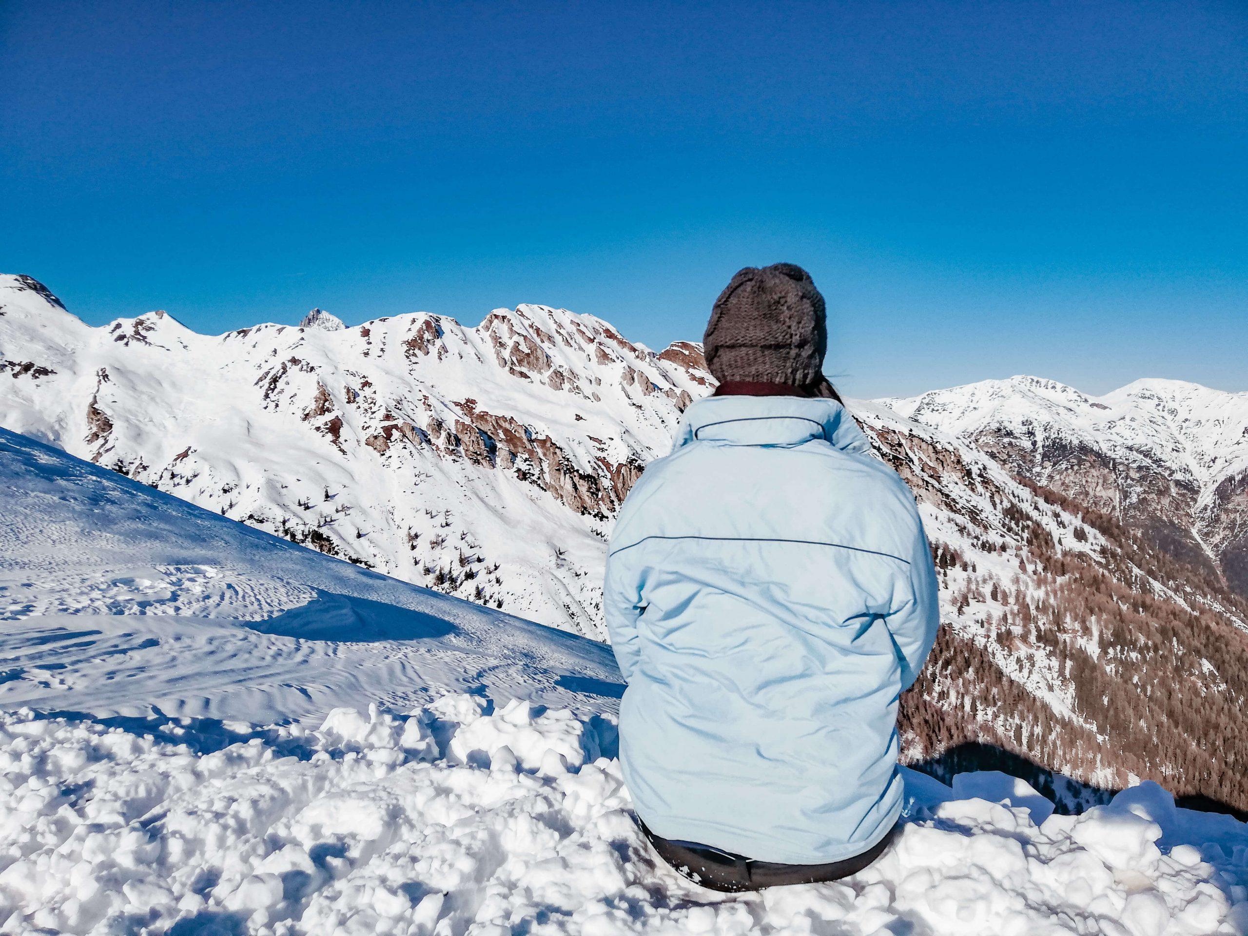 Winterurlaub Rosskopf Südtirol Ski fahren