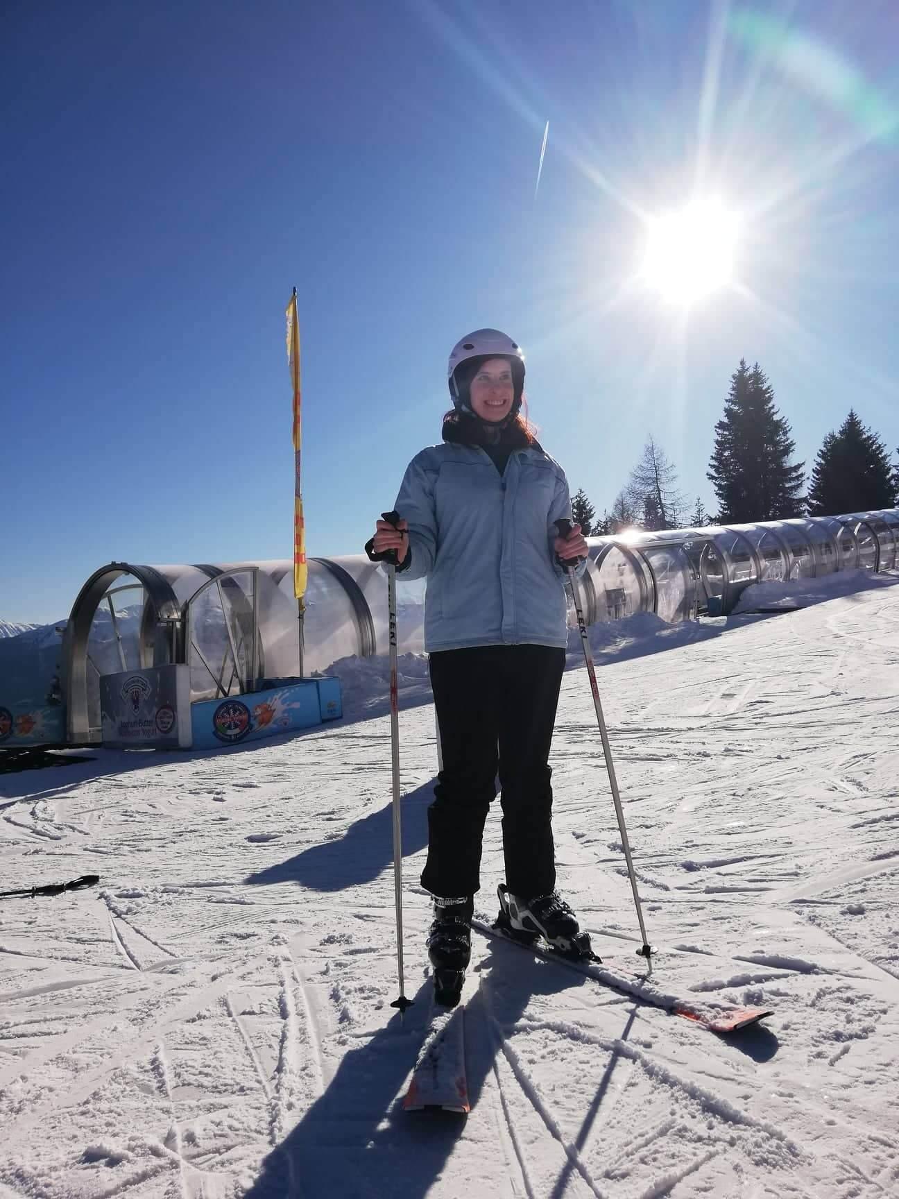 Ski fahren Rosskopf
