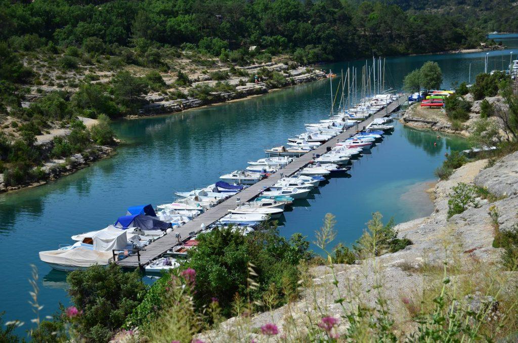 Bootstour auf dem Lac de Verdon
