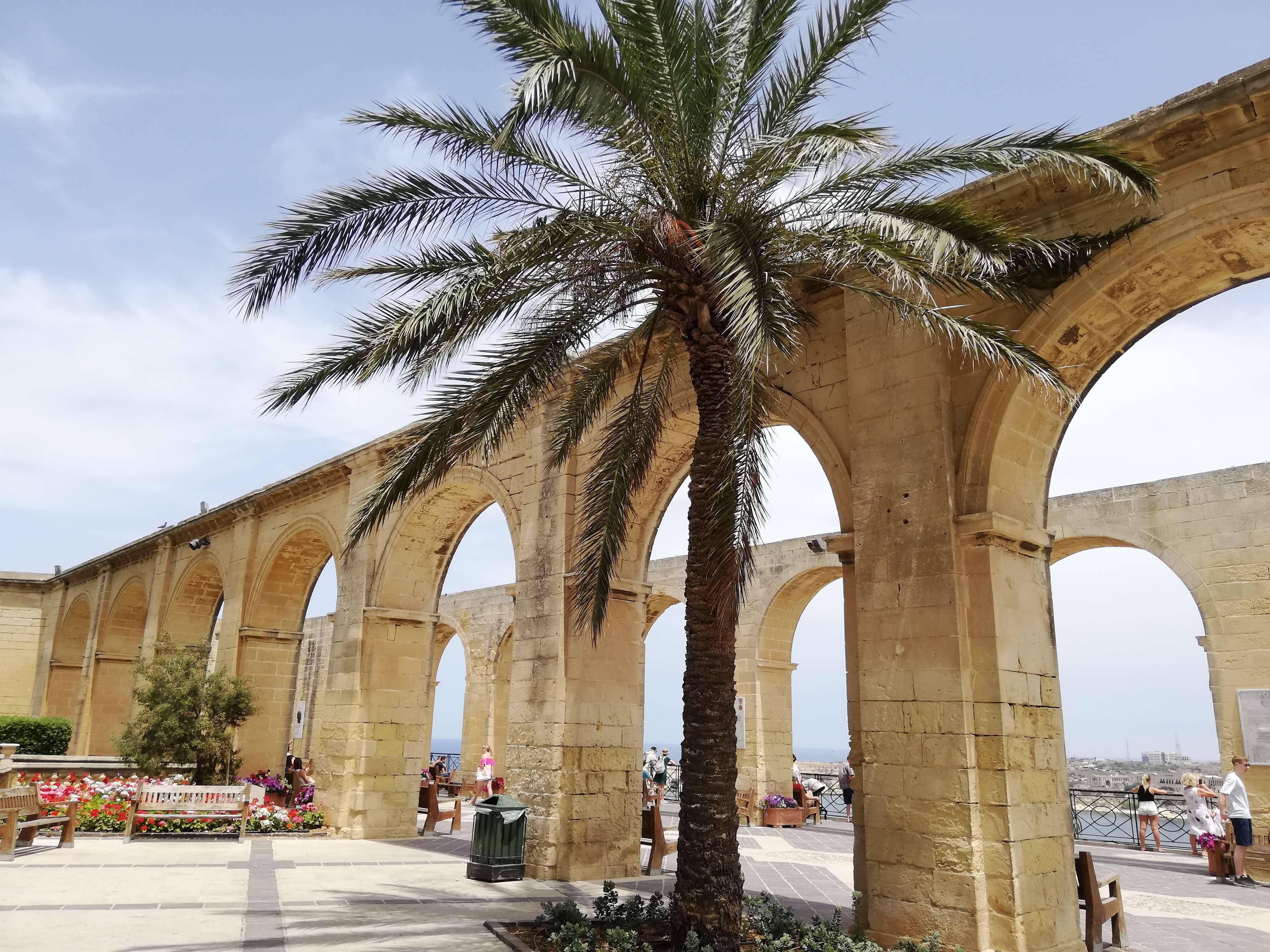 Upper Barraka Gardens Valletta Malta