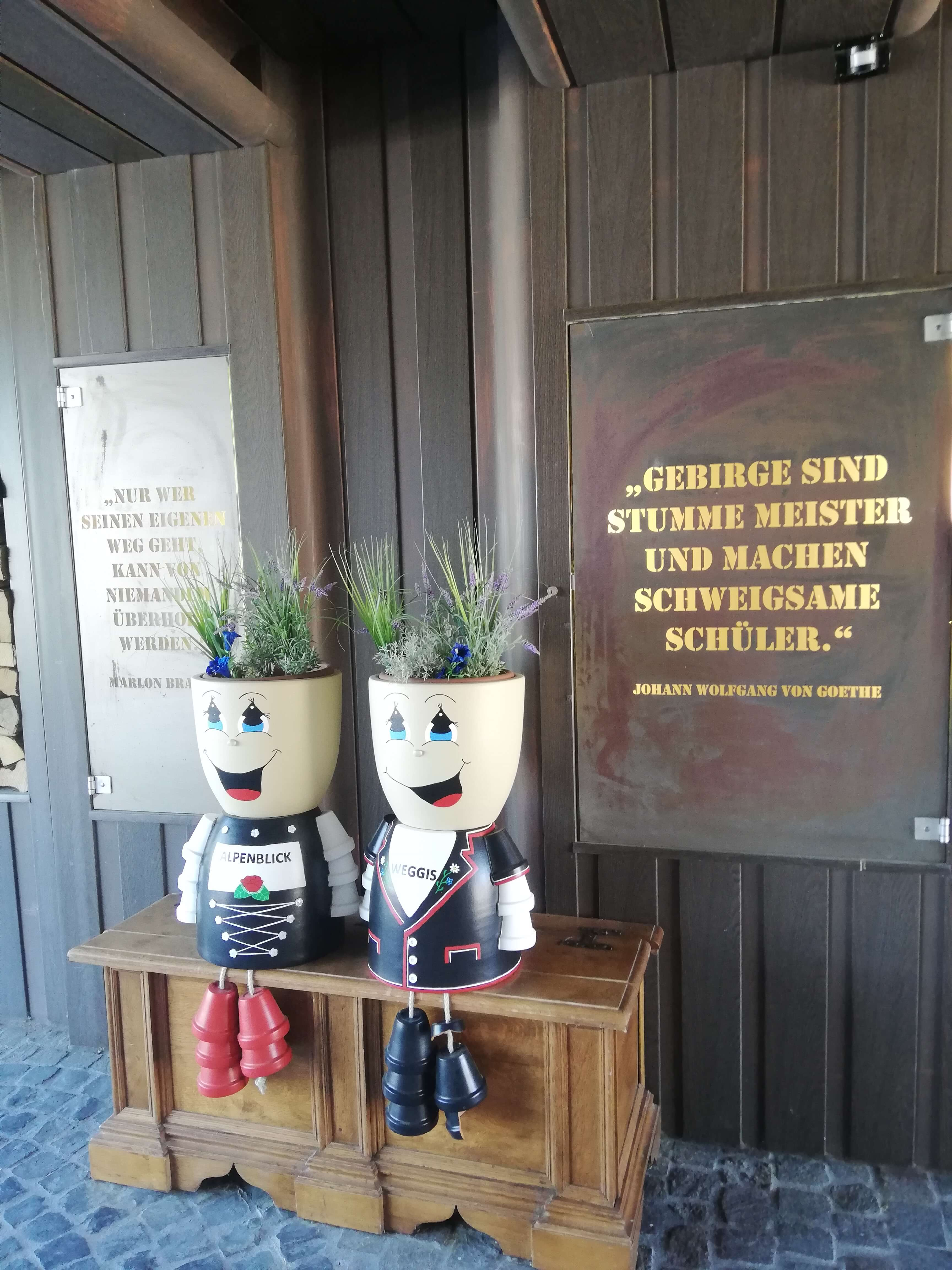 Das Hotel Alpenblick Weggis