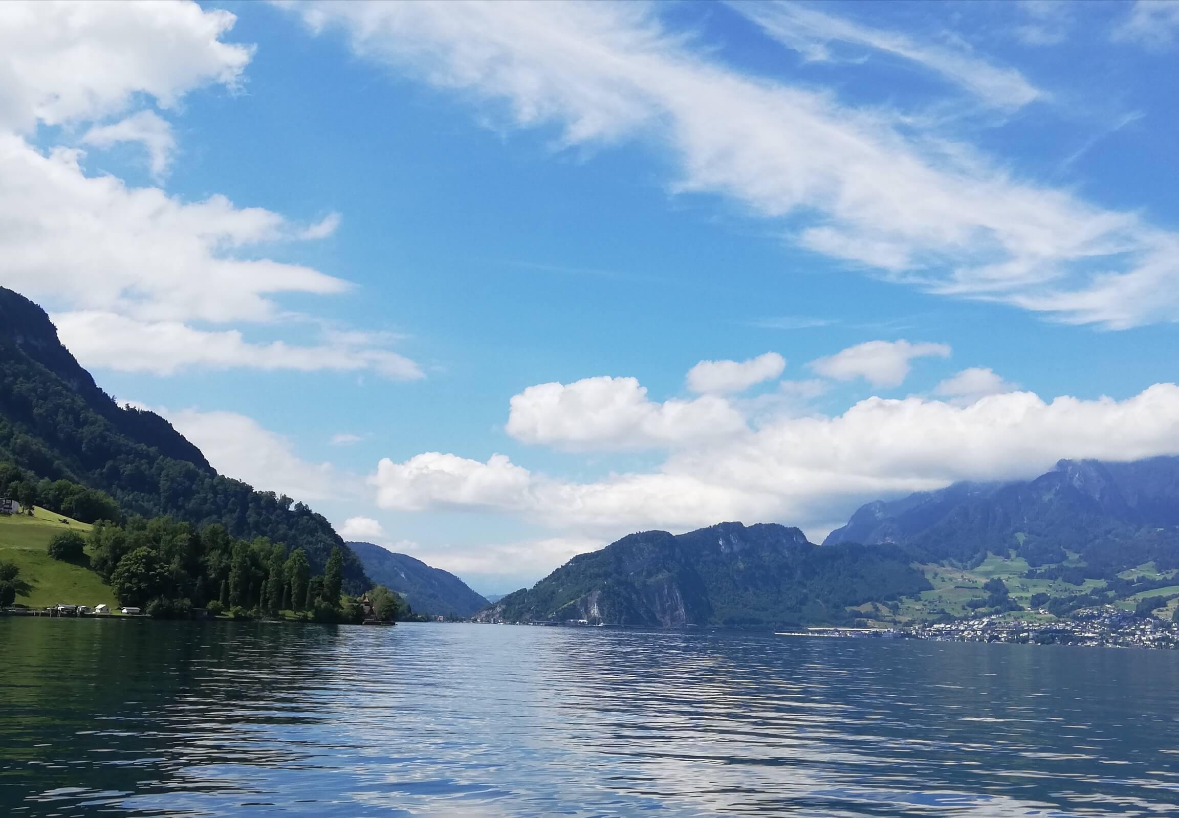 Schifffahrt nach Luzern