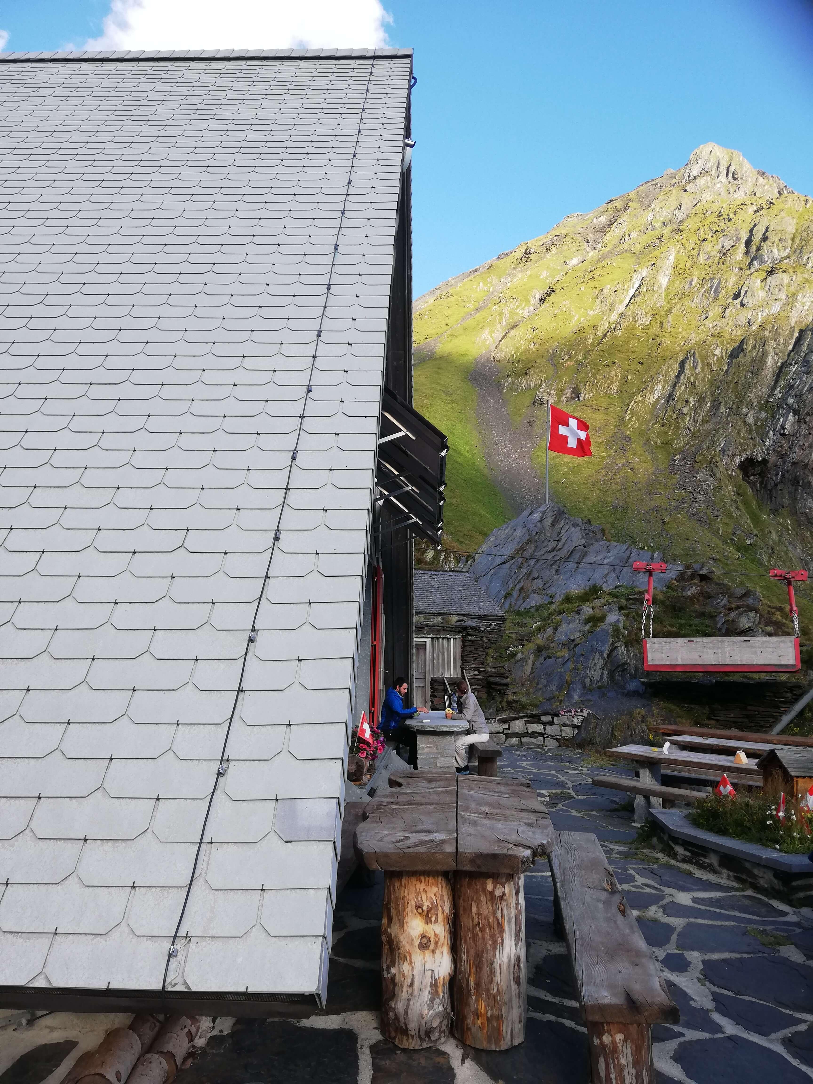 Hütte Wanderung Schweiz