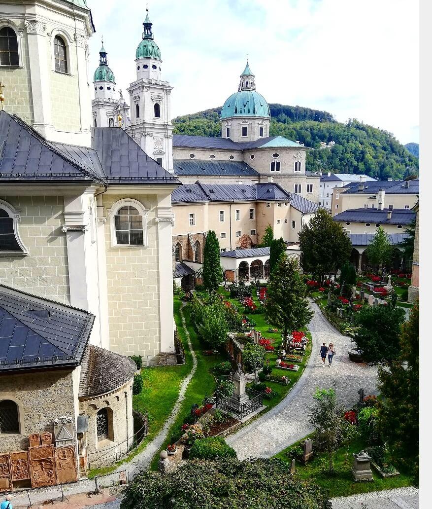 Sankt Peters Friedhof Salzburg
