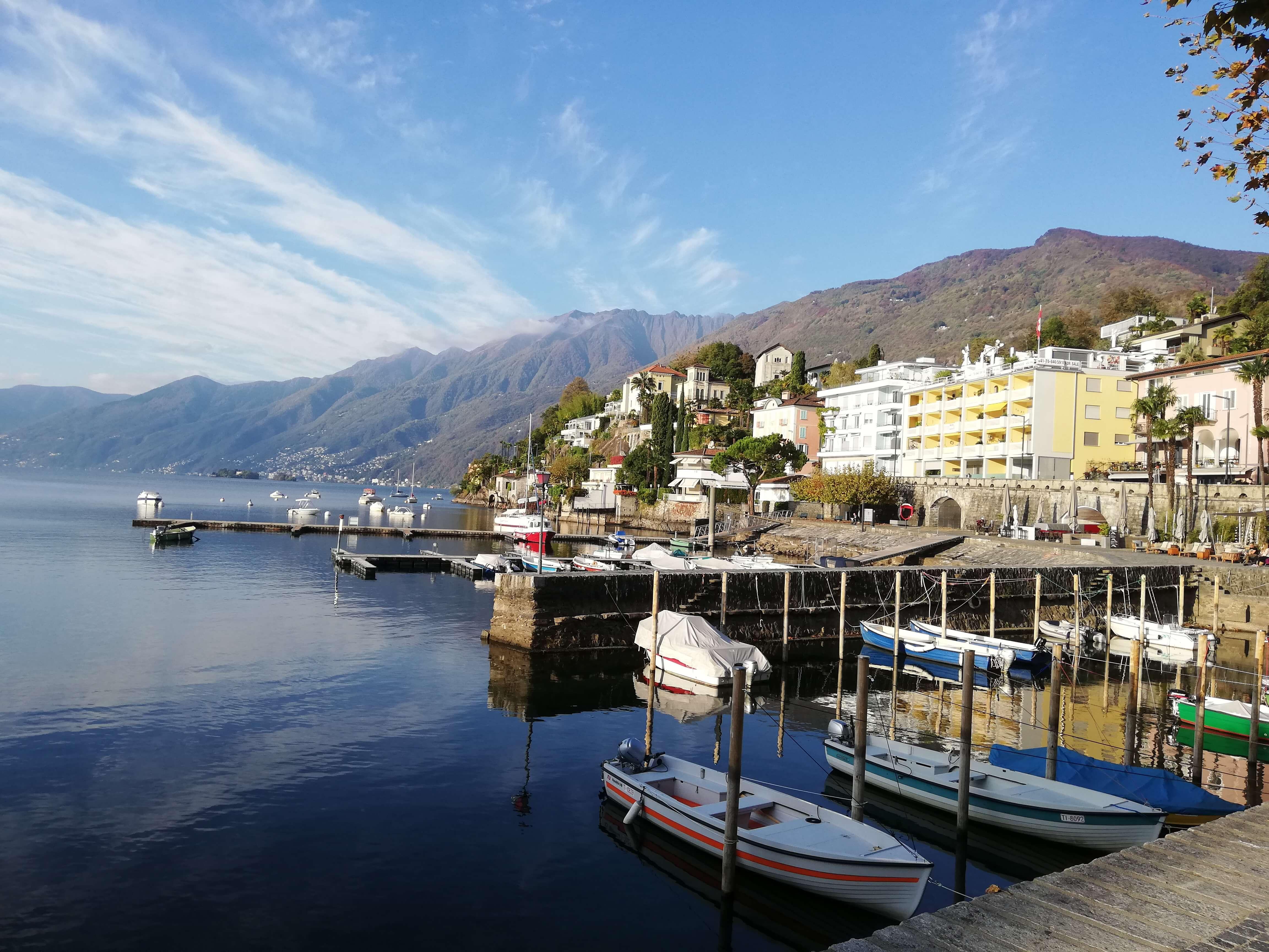 Ascona Lago Maggiore Schweiz