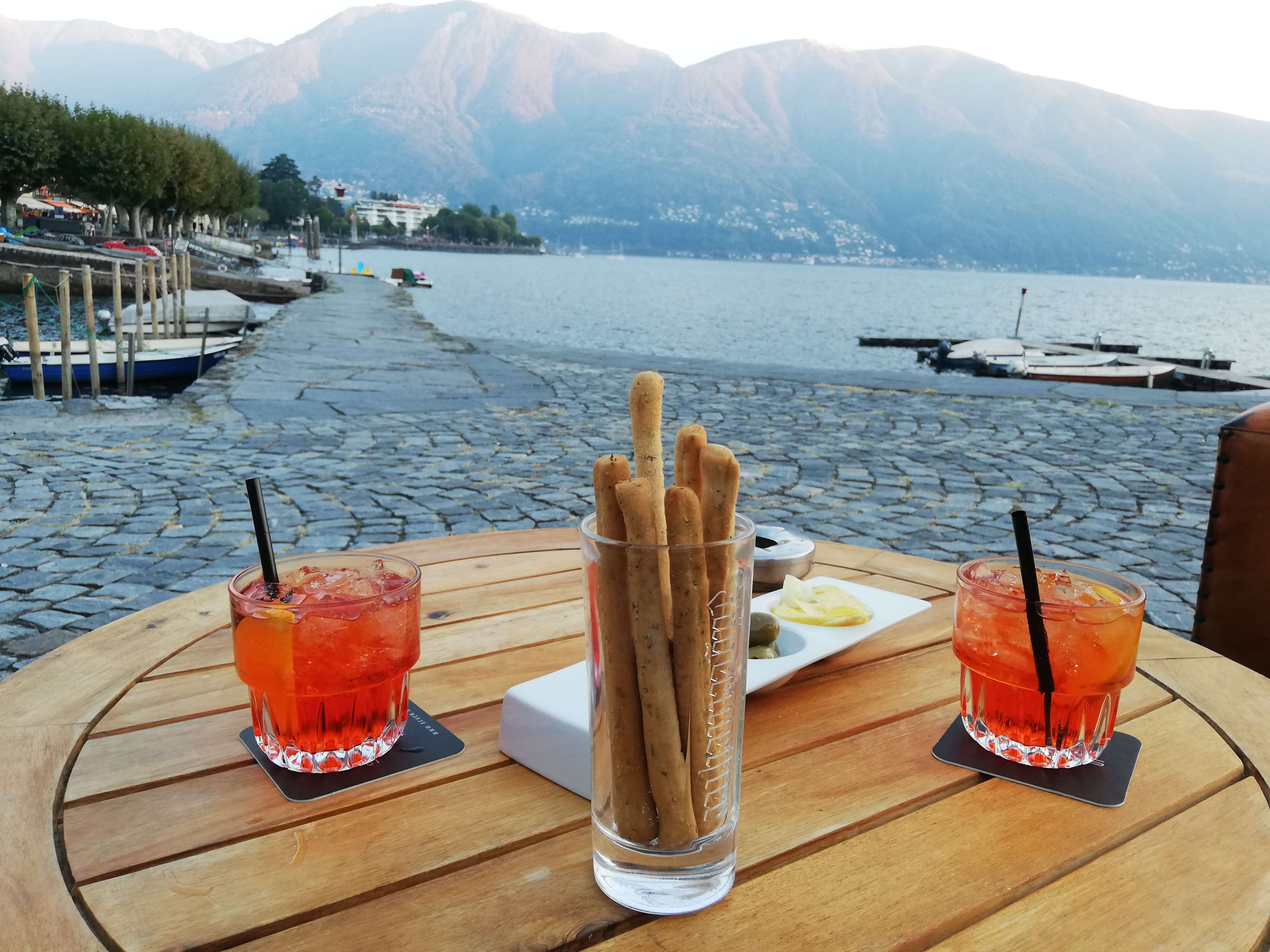 Seelounge Ascona Schweiz Lago Maggiore