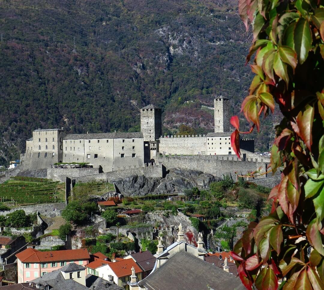 Castle Grande in Bellinzona / Tessin