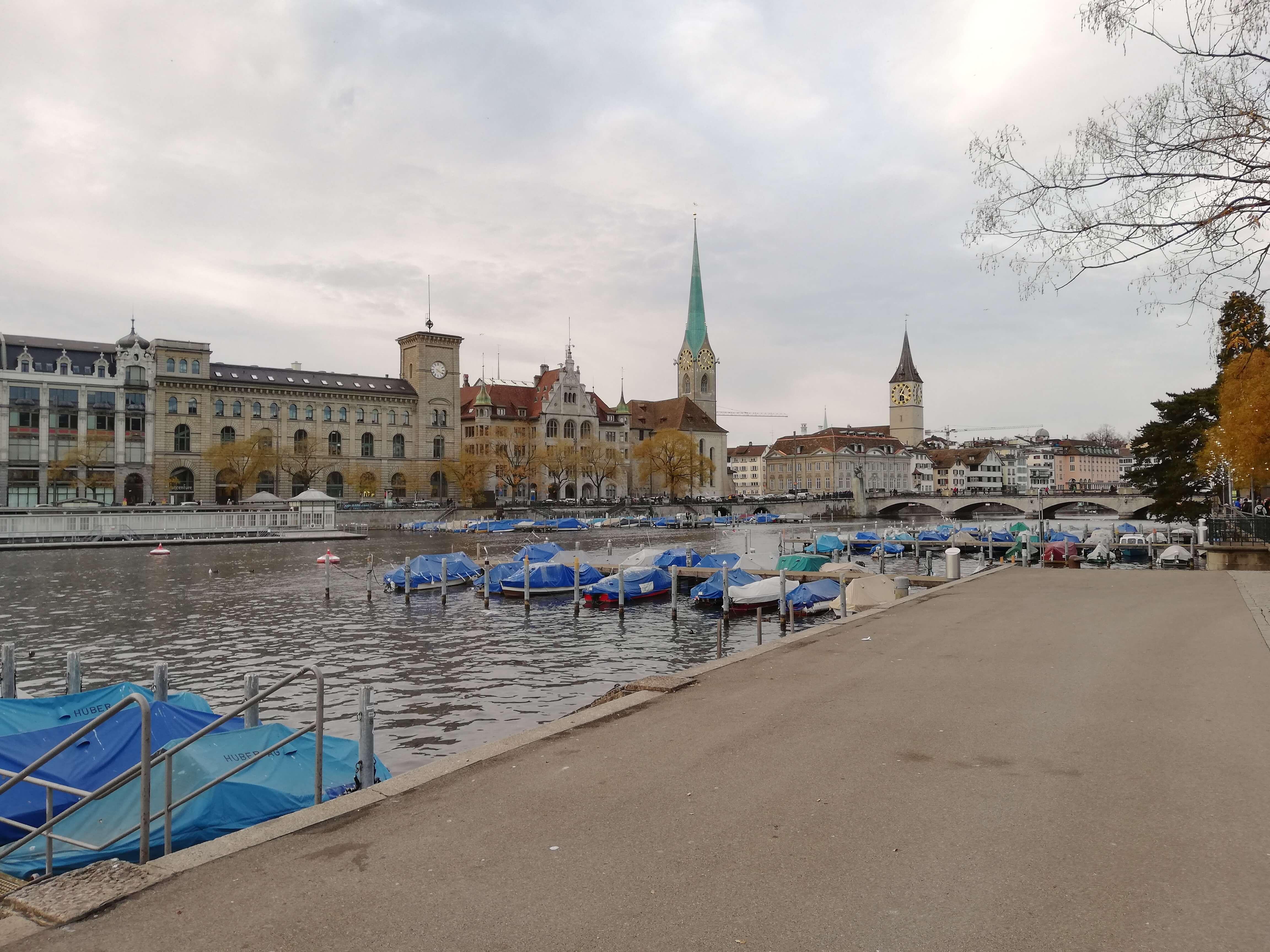 Die Limmat in Zürich