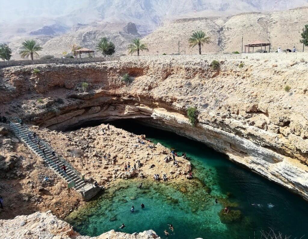 Das Bimmah Sinkhole Oman