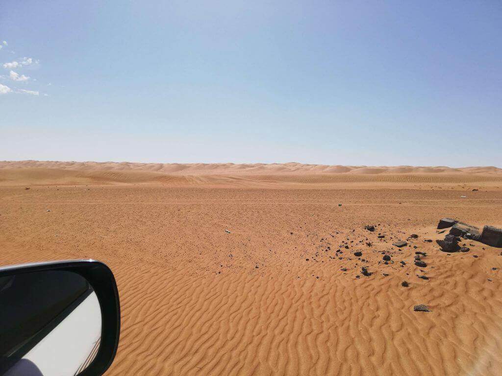 Auf zum Wüstencamp im Oman
