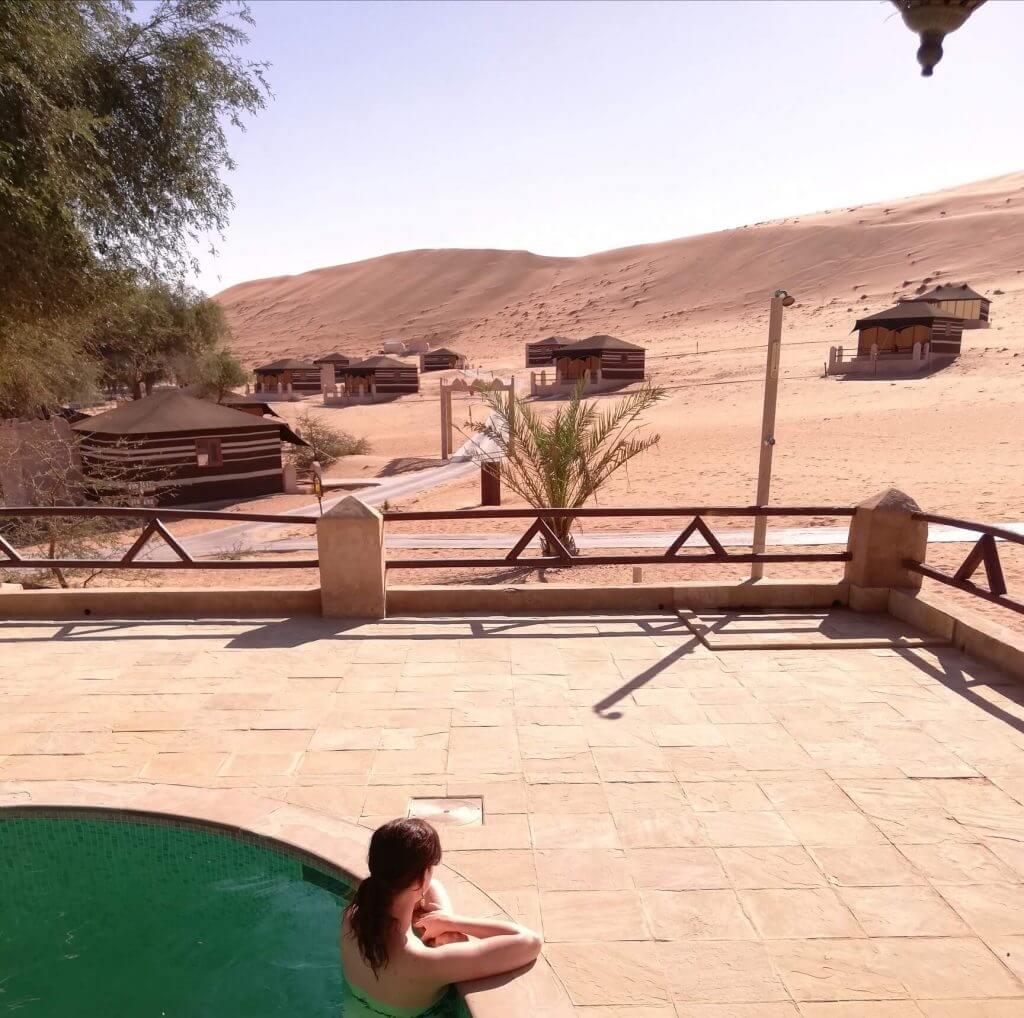 1000 nights Wüstencamp Oman