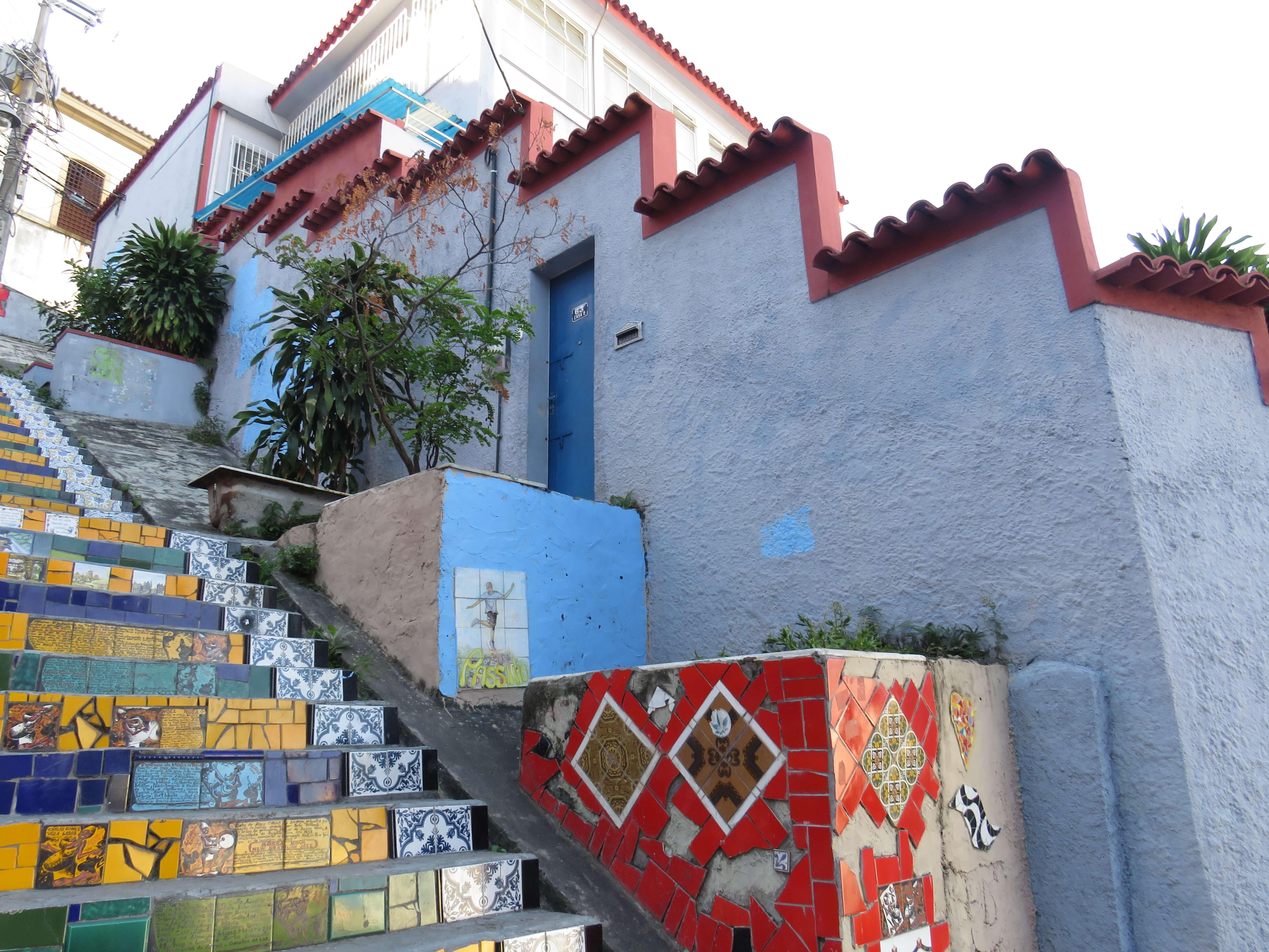 Rio de Janeiro Sehenswürdigkeiten: Die bunten Treppen von LAPA