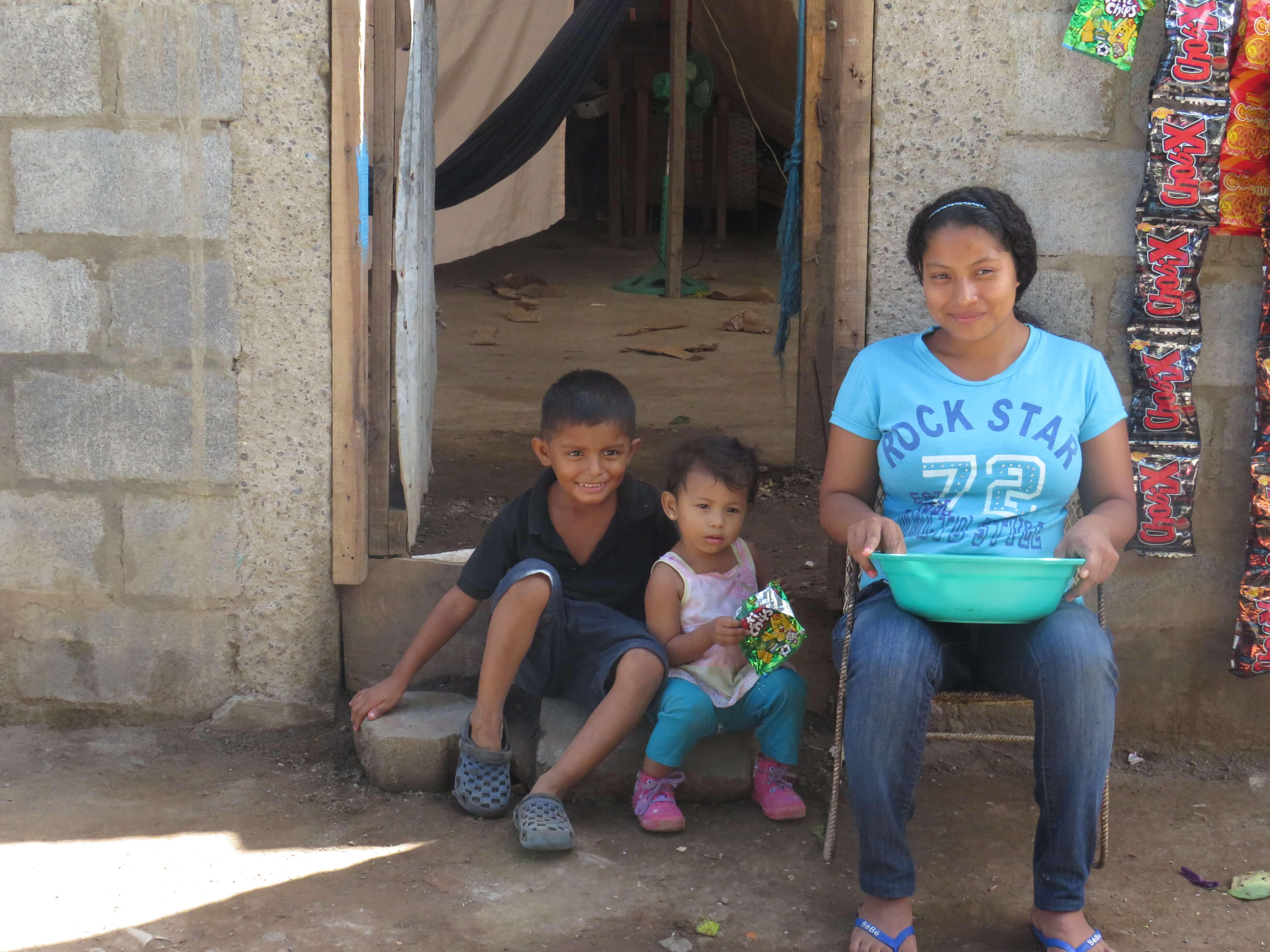 Menschen in Nicaragua / Nicaragua Backpacking Route