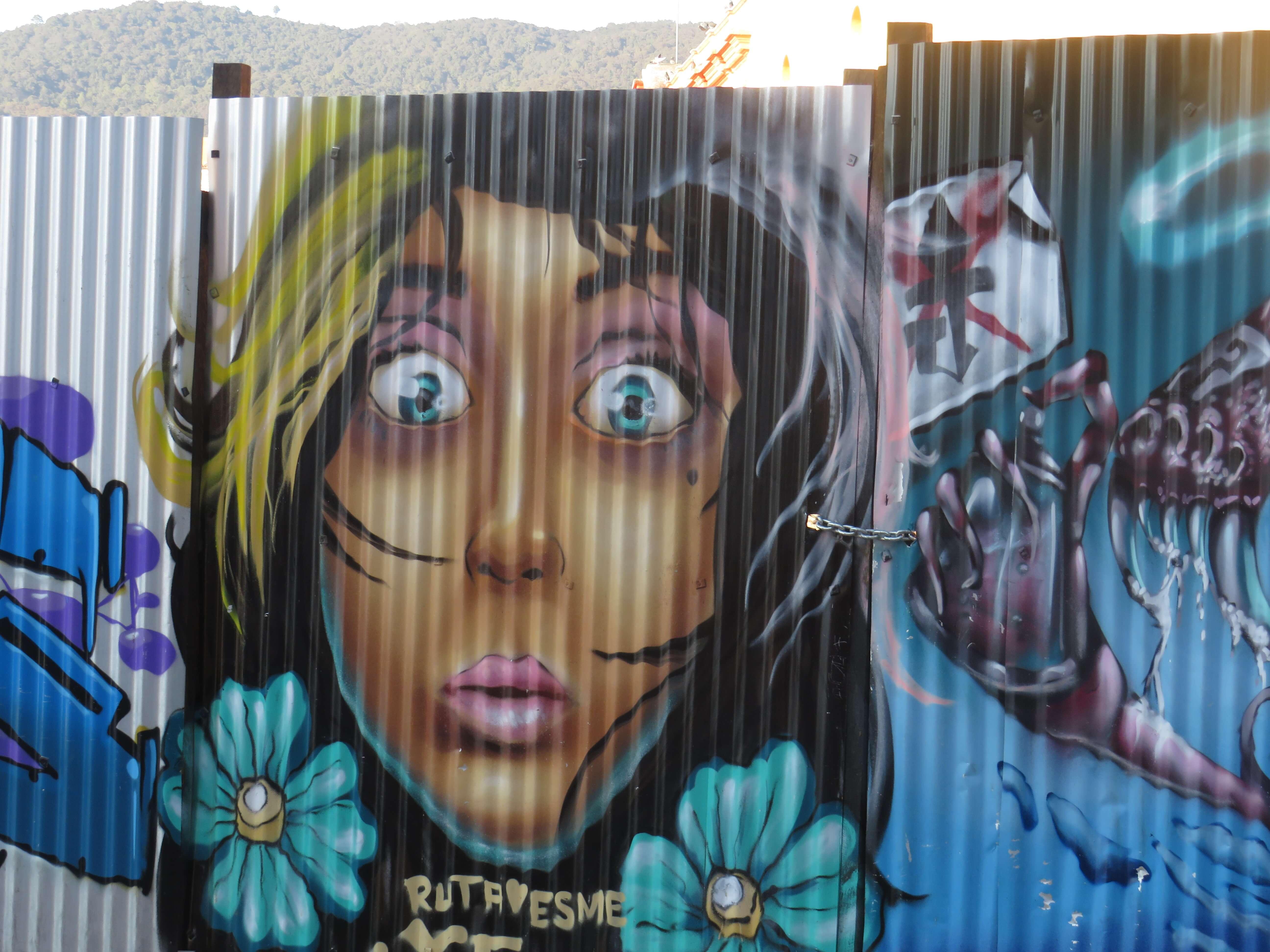Streetart San Cristobal de las Casas/ Mexiko