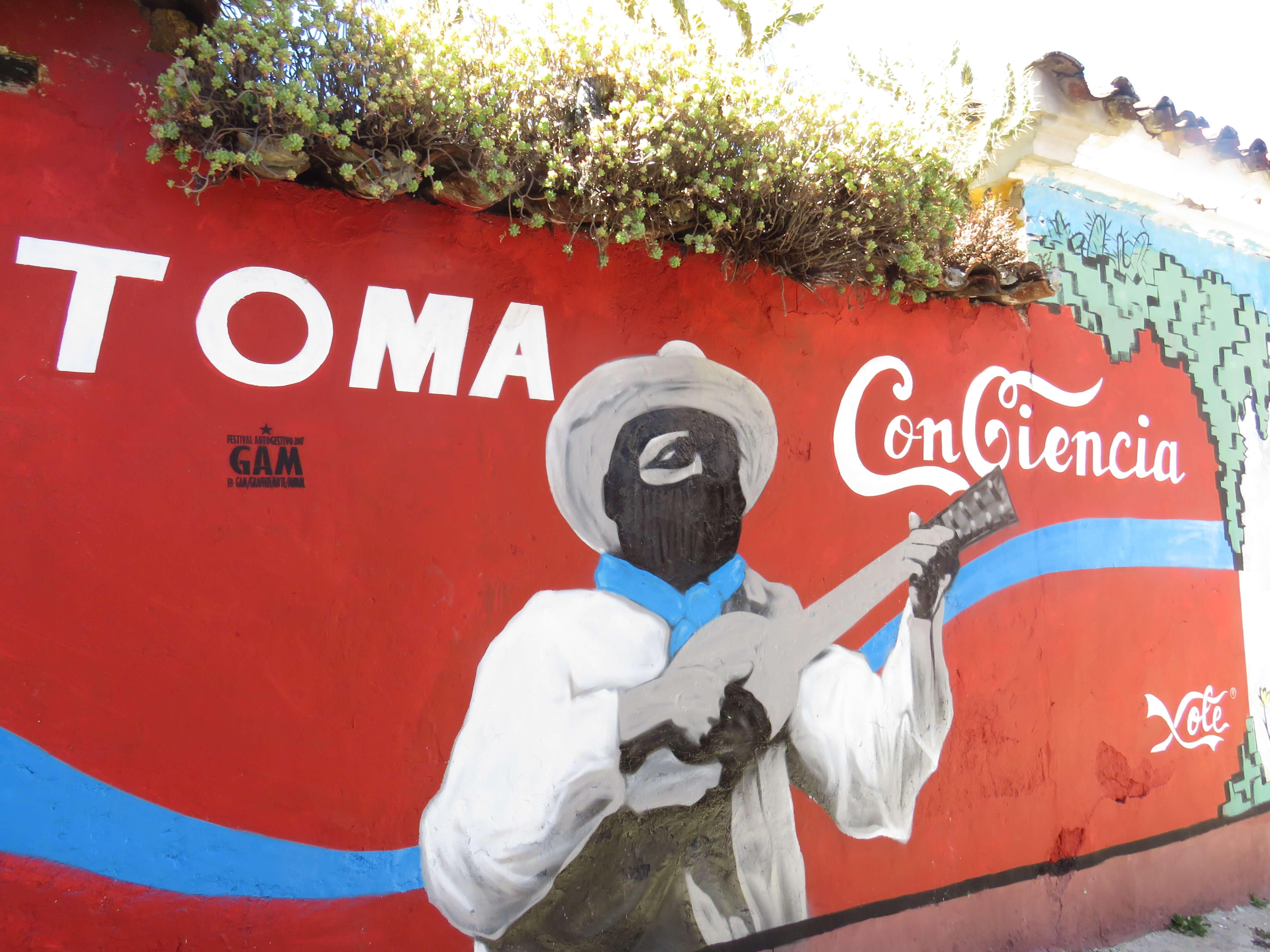 Streetart Mexiko