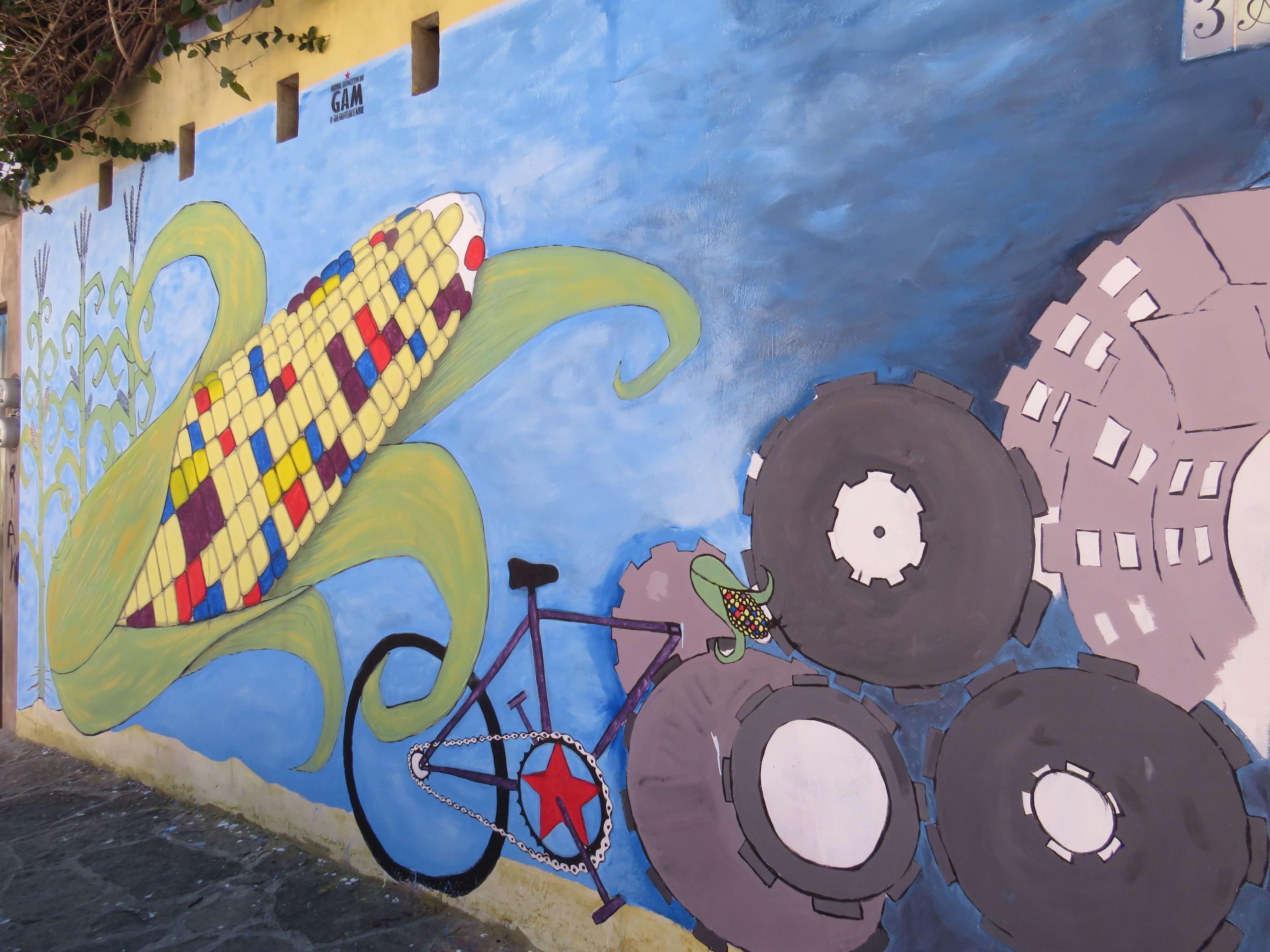 Streetart in den Straßen von San Cristobal