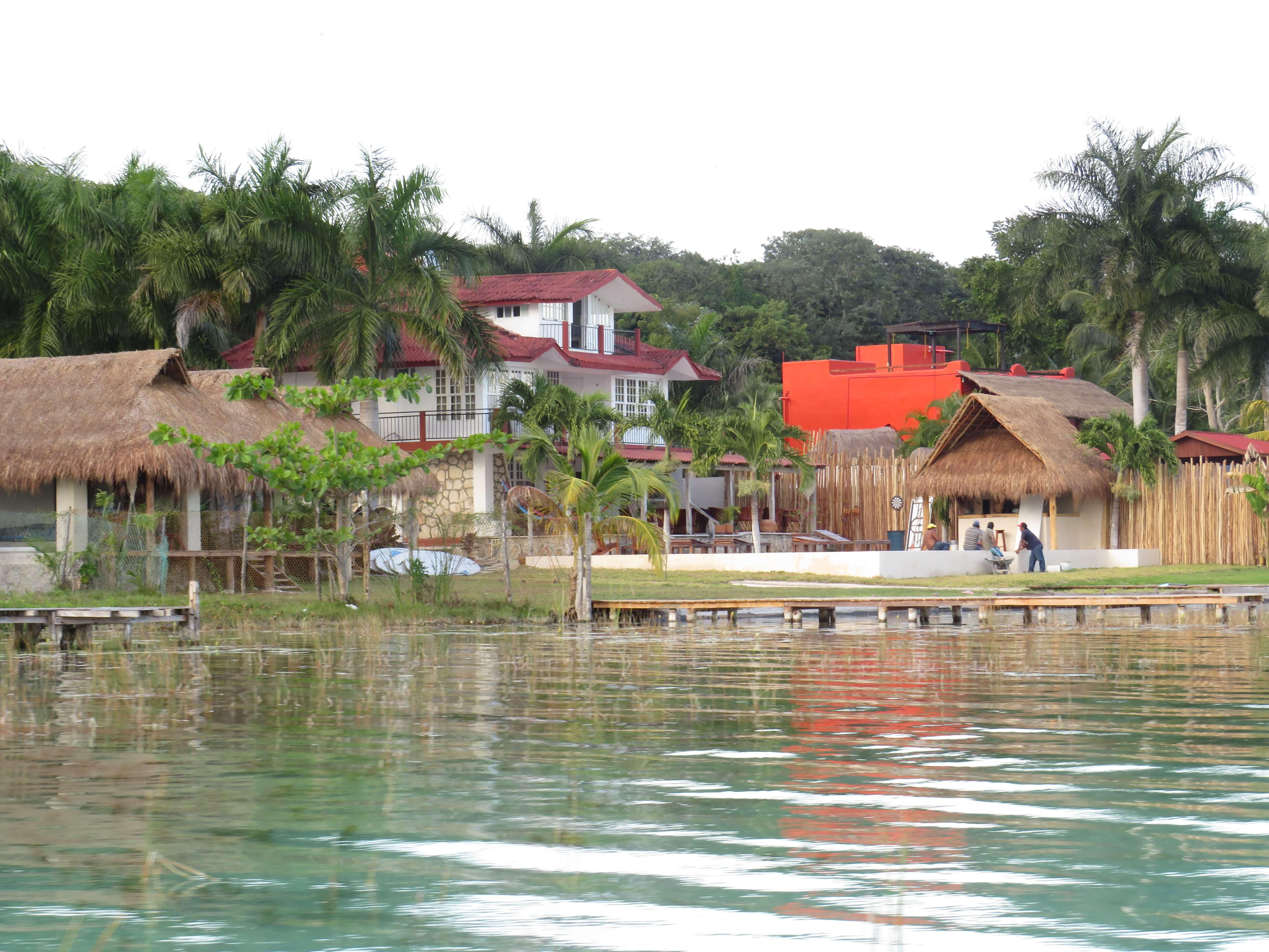 Bootstour auf der Lagune in Mexiko