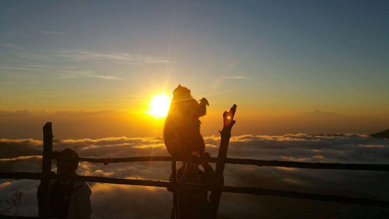 Sonnenaufgang Mount Batur Bali