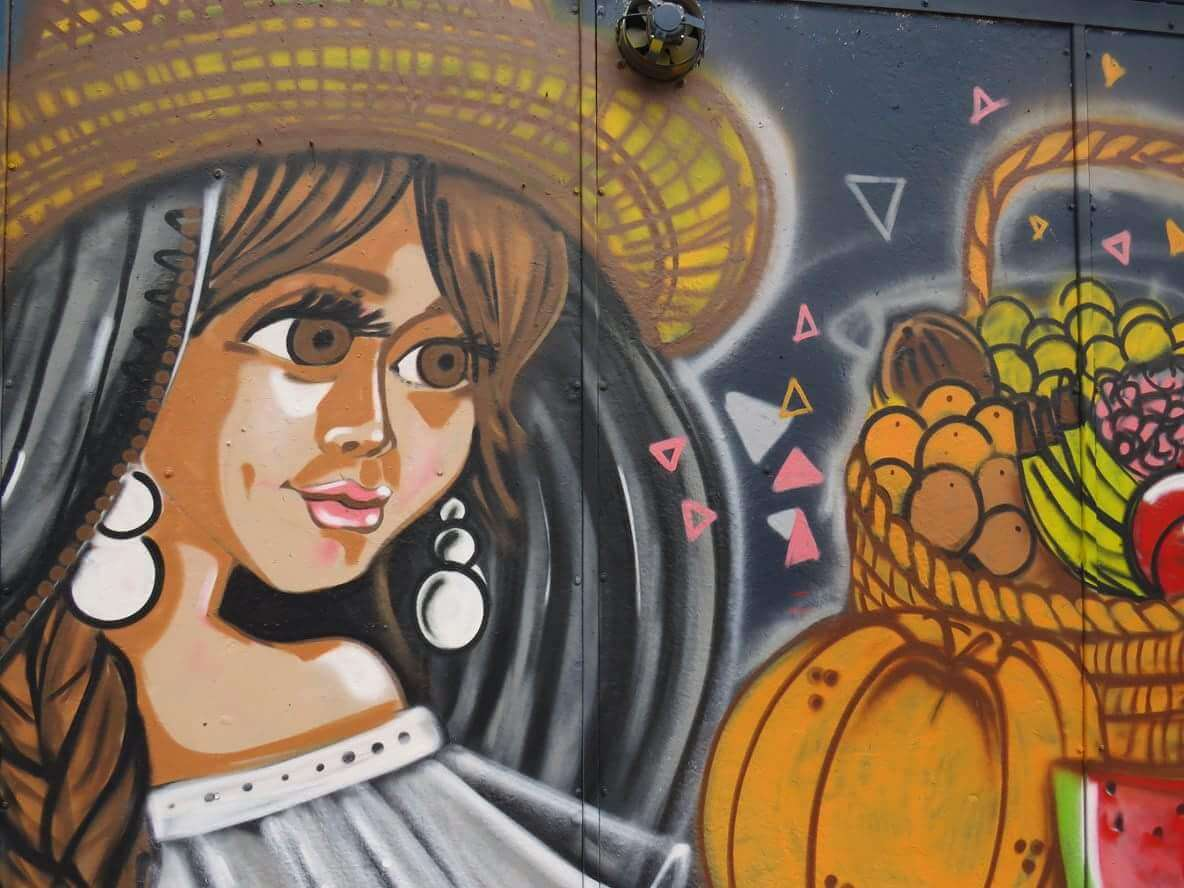 Streetart La Candelaria Bogota