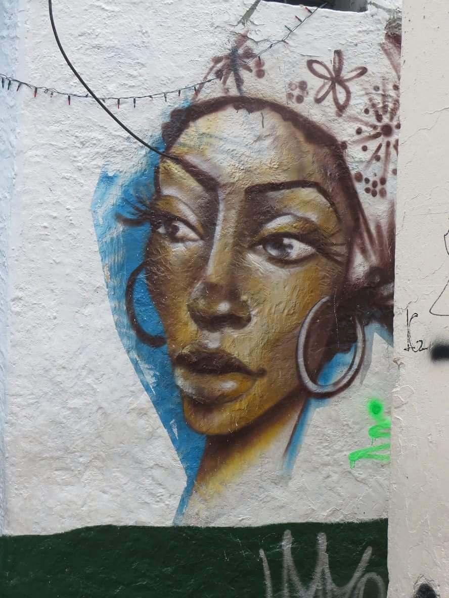 Streetart La Candelaria Bogota Kolumbien
