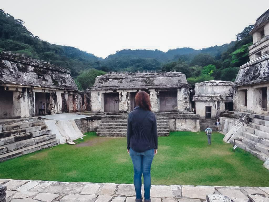 Palenque Mexiko Ruinen