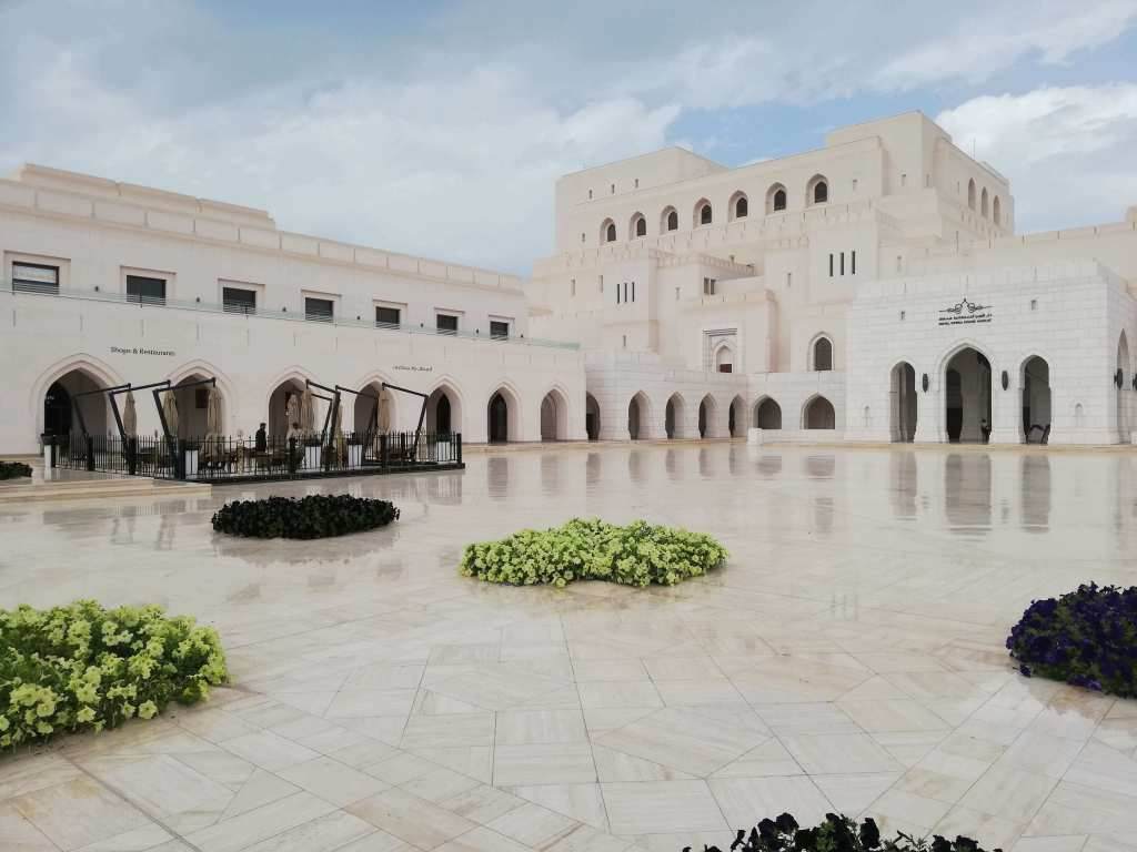 Das Royal Opera House in Muscat
