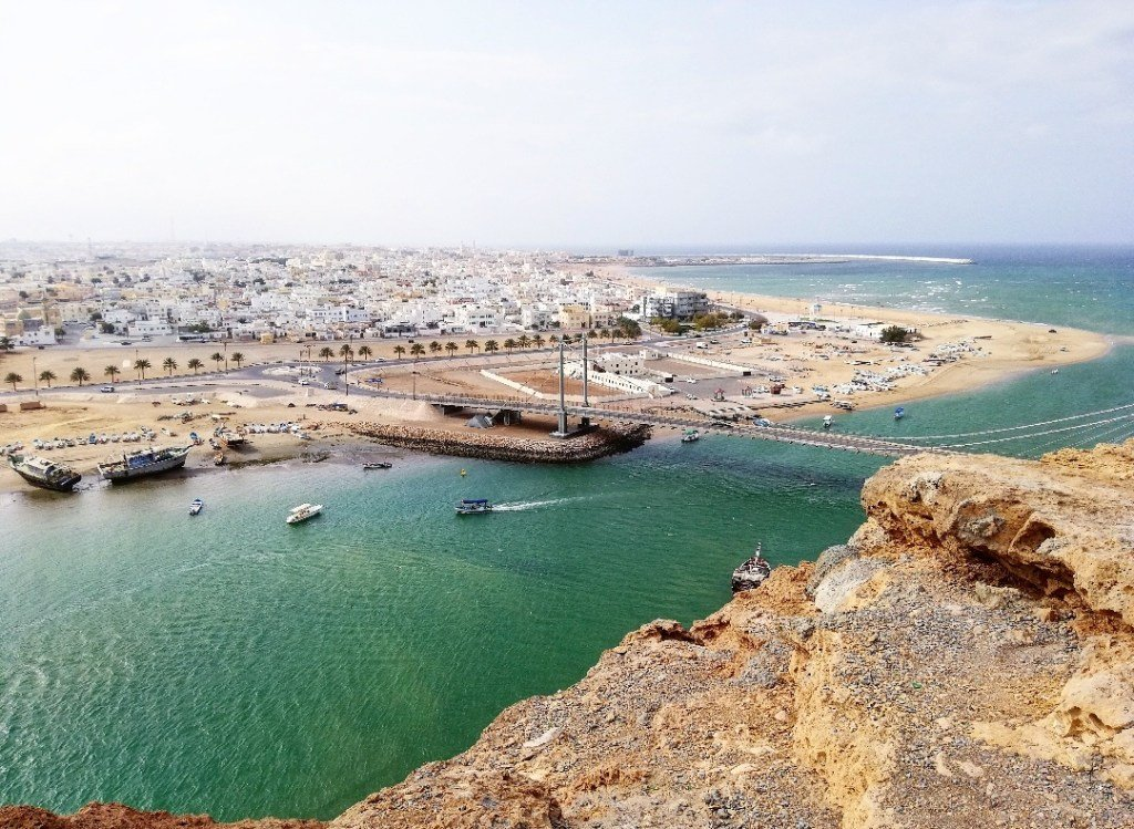 Die Stadt Sur Oman