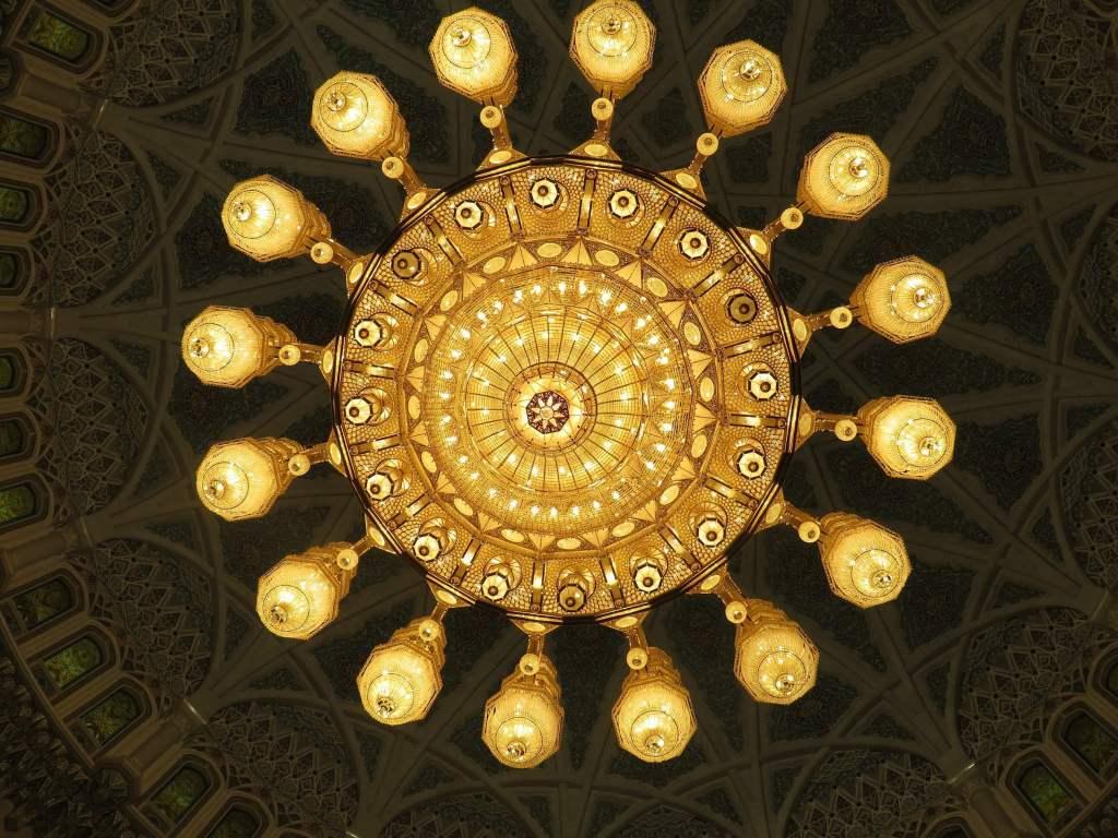 Kronleuchter Sultan Qaboos Grand Mosque