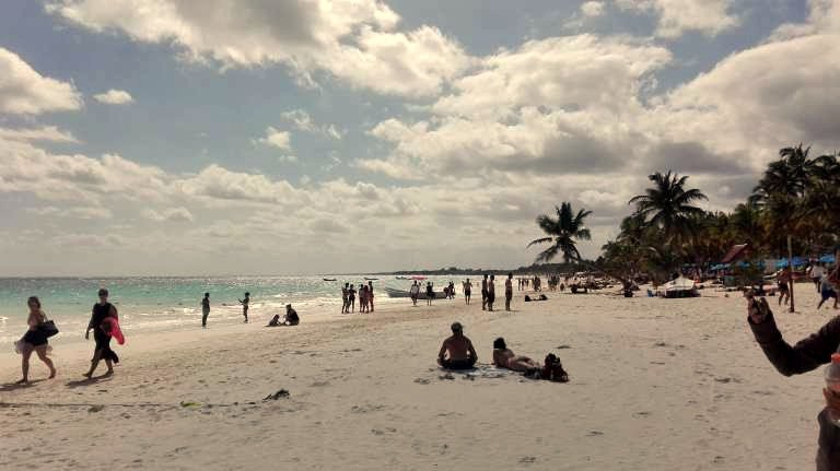 Tulum Strand Mexiko