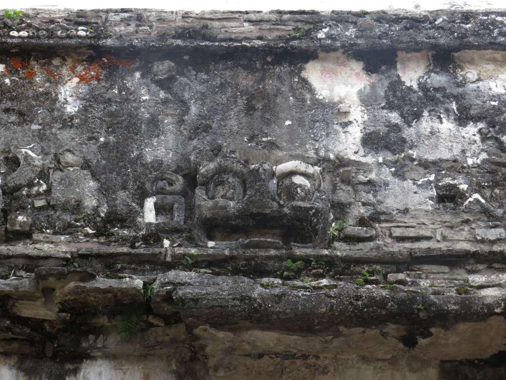 Dämonen Maya Ruinen Palenque