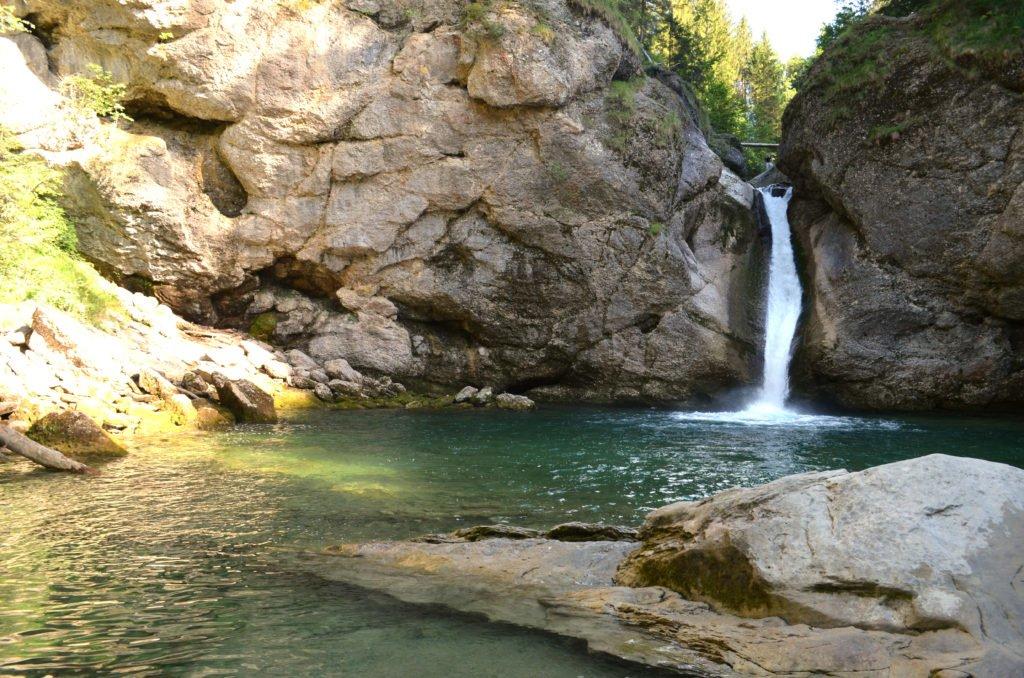 Buchenegger Wasserfälle Oberstaufen