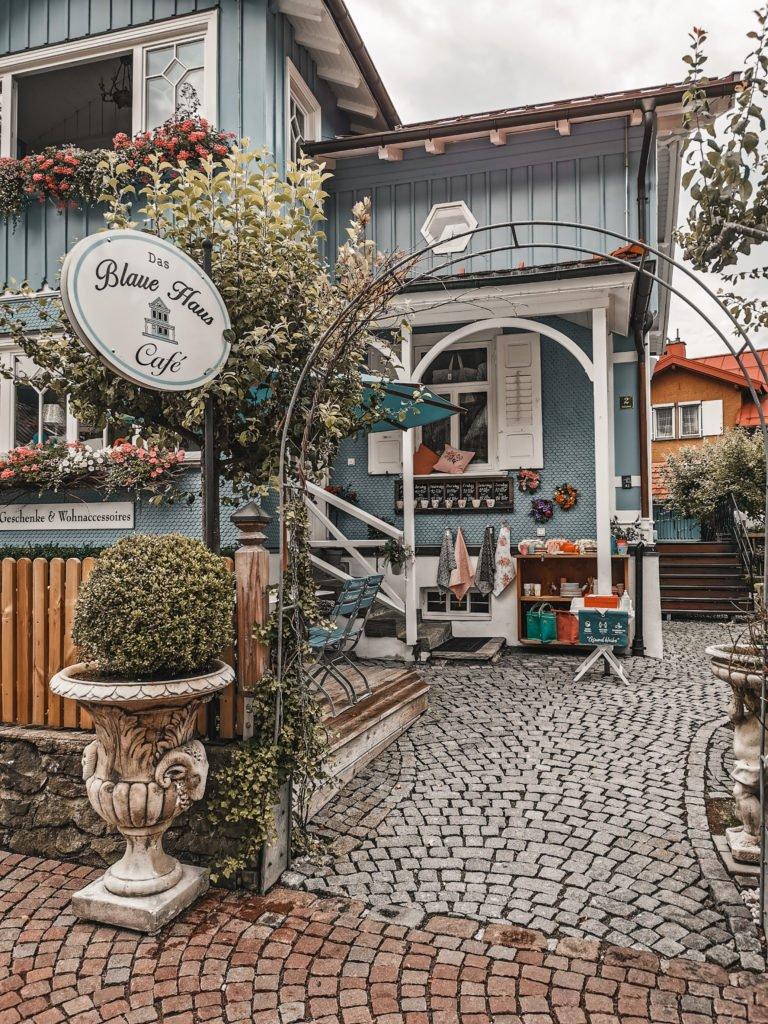 Blaues Haus Oberstaufen  Allgäu
