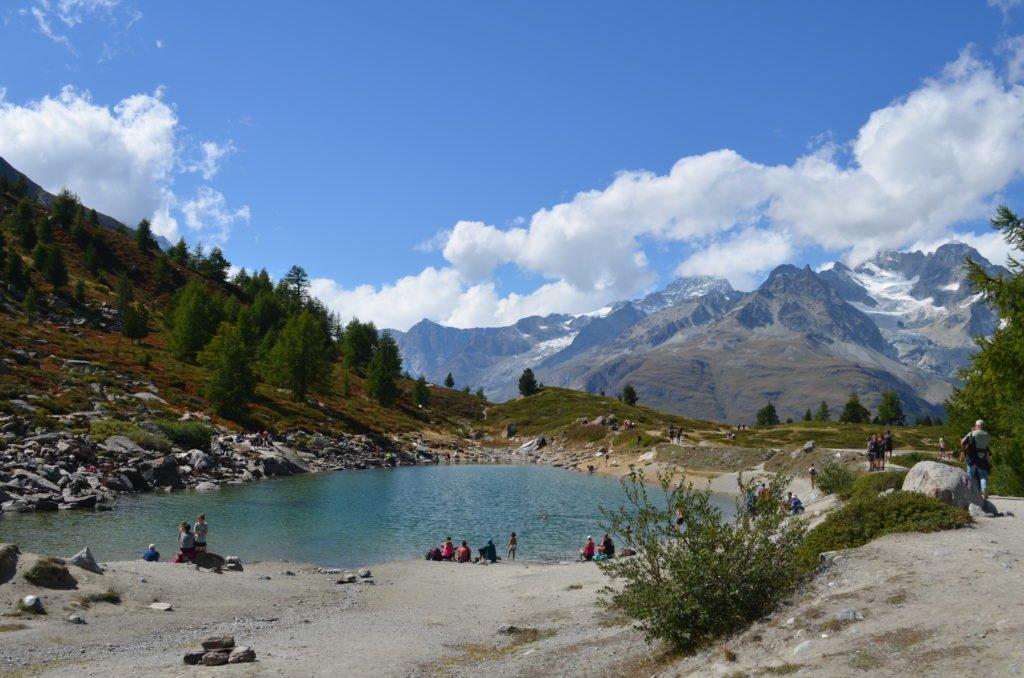 Der Grünsee Zermatt