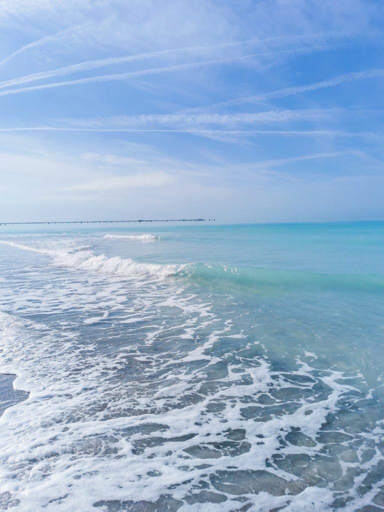 Verseuchter Strand Italien Spiagga Bianche